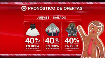 Target TV Spot, 'Black Friday: ropa' [Spanish] - 26 commercial airings