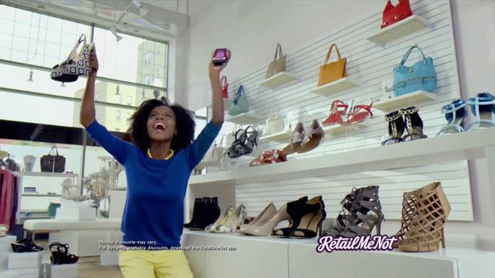 Retailmenot TV Commercial, 'Holiday Happy Place'