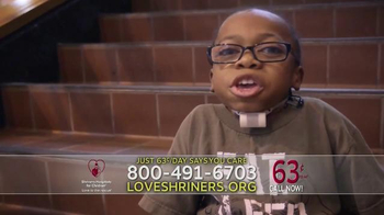 Shriners Hospitals For Children TV Spot, 'Imagine' - Thumbnail 6