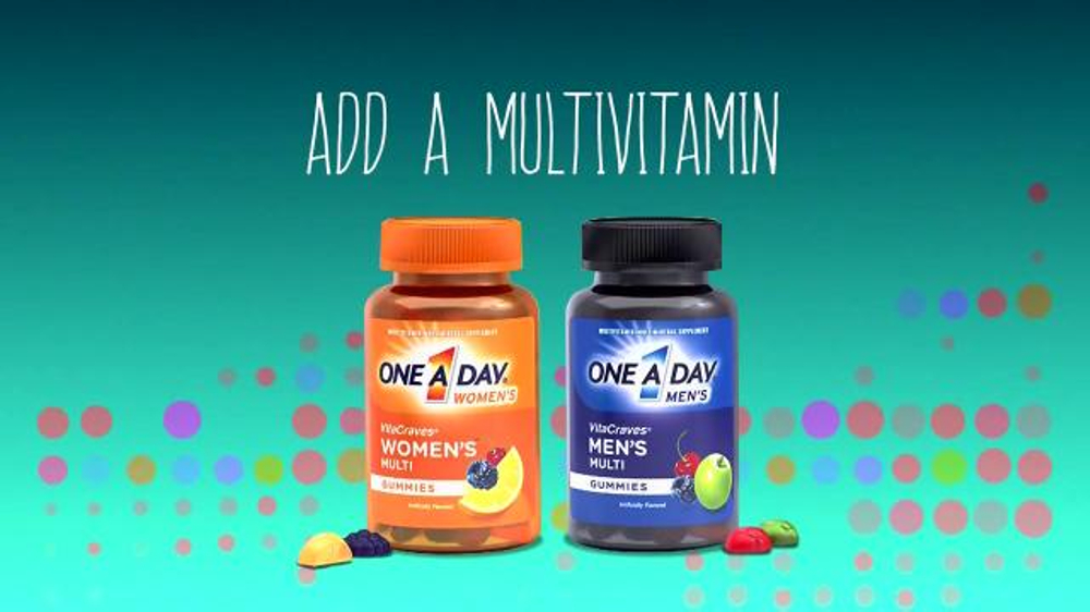 One A Day VitaCraves Gummies TV Commercial, 'BET' - Video