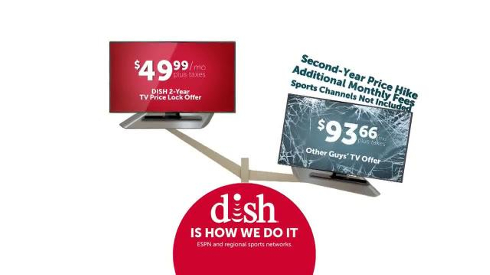 Dish Network Two-Year TV Price Lock TV Commercial, 'Dish Is How We Do It'