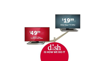 Dish Network Two-Year TV Price Lock TV Spot, 'Dish Is How We Do It' - Thumbnail 1
