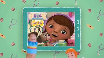 Doc McStuffins Pet Vet App TV Spot, 'Tap & Swipe' - Thumbnail 3