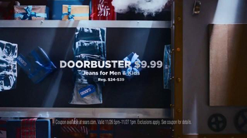 Sears Black Friday Doorbusters TV Spot, 'Time for the Holidays' - Thumbnail 4