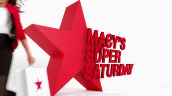 Macy's Super Saturday Sale TV Spot, 'Wow Savings Pass' - Thumbnail 2