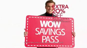 Macy's Super Saturday Sale TV Spot, 'Wow Savings Pass' - Thumbnail 6