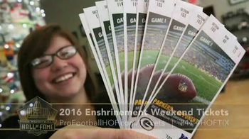 Pro Football Hall of Fame TV Spot, '2016 Enshrinement Weekend Tickets' - Thumbnail 3
