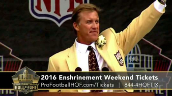 Pro Football Hall of Fame TV Spot, '2016 Enshrinement Weekend Tickets' - Thumbnail 4