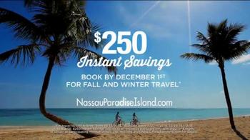 Nassau Paradise Island TV Spot, 'Fall and Winter Travel' - Thumbnail 2