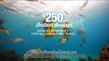 Nassau Paradise Island TV Spot, 'Fall and Winter Travel' - Thumbnail 8