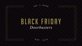 JoS. A. Bank Black Friday Doorbusters TV Spot, 'Coats and Shirts'