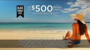 Atlantis Bahamas Black Friday Sale TV Spot, 'Biggest Sale of the Year' - Thumbnail 7