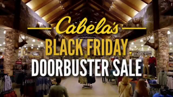 Cabela's Black Friday Doorbuster Sale TV Spot, 'Binoculars, Reel and GPS' - Thumbnail 3