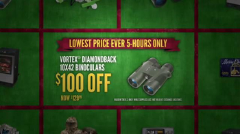 Cabela's Black Friday Doorbuster Sale TV Spot, 'Binoculars, Reel and GPS' - Thumbnail 4