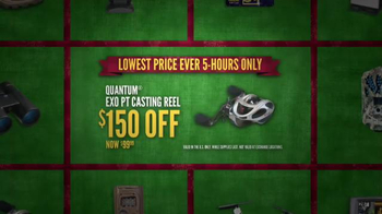 Cabela's Black Friday Doorbuster Sale TV Spot, 'Binoculars, Reel and GPS' - Thumbnail 5