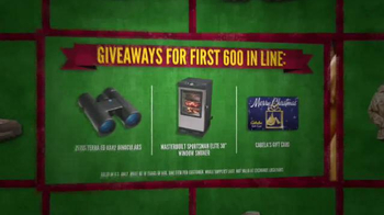 Cabela's Black Friday Doorbuster Sale TV Spot, 'Binoculars, Reel and GPS' - Thumbnail 6