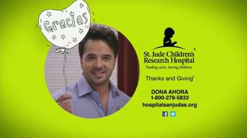 St. Jude Children's Research Hospital TV Spot, 'Dona ahora' [Spanish] - 131 commercial airings