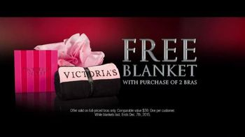 Victoria's Secret TV Spot, 'Free Gift: Blanket' - 156 commercial airings