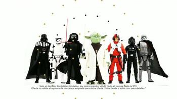 Kohl's Black Friday TV Spot, 'Figuras de acción de Star Wars' [Spanish] - 10 commercial airings