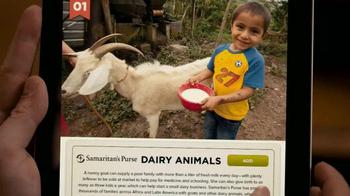 Samaritan's Purse TV Spot, 'Give a Goat' - Thumbnail 3