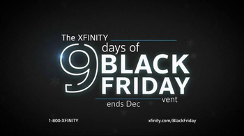 XFINITY 9 Days of Black Friday Event TV Spot, 'Too Big for One Day' - Thumbnail 8