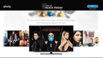 XFINITY 9 Days of Black Friday Event TV Spot, 'Too Big for One Day' - Thumbnail 6