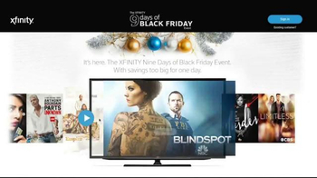 XFINITY 9 Days of Black Friday Event TV Spot, 'Too Big for One Day' - Thumbnail 7