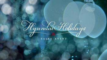 2015 Hyundai Holidays Sales Event TV Spot, 'Happiest Holidays: SUV' - Thumbnail 1