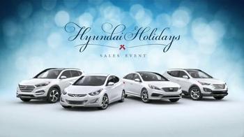2015 Hyundai Holidays Sales Event TV Spot, 'Happiest Holidays: SUV' - Thumbnail 7