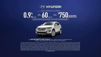 2015 Hyundai Holidays Sales Event TV Spot, 'Happiest Holidays: SUV' - Thumbnail 8