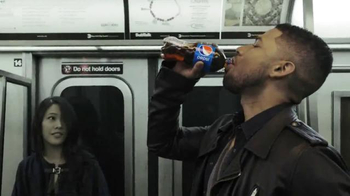 Pepsi TV Spot, 'Jamal Lyon's Train Ride' Featuring Jussie Smollett