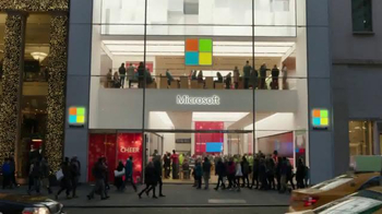 Microsoft TV Spot, 'Microsoft Spreads the Spirit of the Season on 5th Ave' - Thumbnail 1
