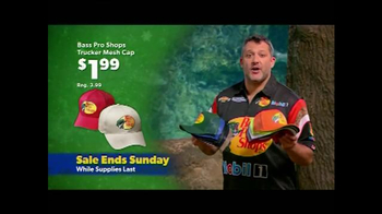 Bass Pro Shops Super Saturday and Sunday Sale TV Spot, 'Caps and Kit' - Thumbnail 4