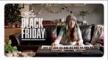 Guitar Center Black Friday Weekend Savings Event TV Spot, 'Guitars' - Thumbnail 1