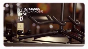 Guitar Center Black Friday Weekend Savings Event TV Spot, 'Guitars' - Thumbnail 6