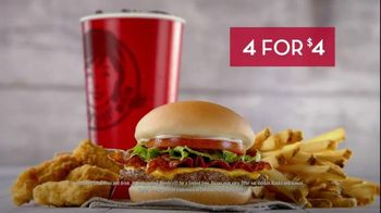 Wendy's 4 for $4 Meal TV Spot, 'Engagement Photo' - Thumbnail 5