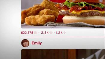 Wendy's 4 for $4 Meal TV Spot, 'Engagement Photo' - Thumbnail 3