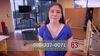 Shriners Hospitals for Children TV Spot, 'Everyday Miracles' - Thumbnail 8