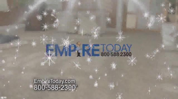 Empire Today 50/50/50 Sale TV Spot, 'Floors Before Christmas' - Thumbnail 1