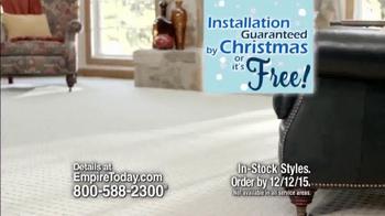 Empire Today 50/50/50 Sale TV Spot, 'Floors Before Christmas' - Thumbnail 3