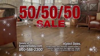Empire Today 50/50/50 Sale TV Spot, 'Floors Before Christmas' - Thumbnail 5