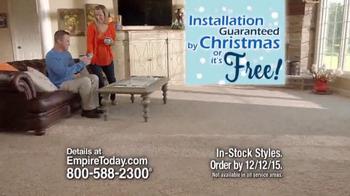 Empire Today 50/50/50 Sale TV Spot, 'Floors Before Christmas' - Thumbnail 9