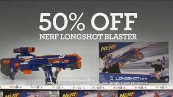 Toys R Us Black Friday TV Spot, 'Pink Friday: NERF' - 225 commercial airings