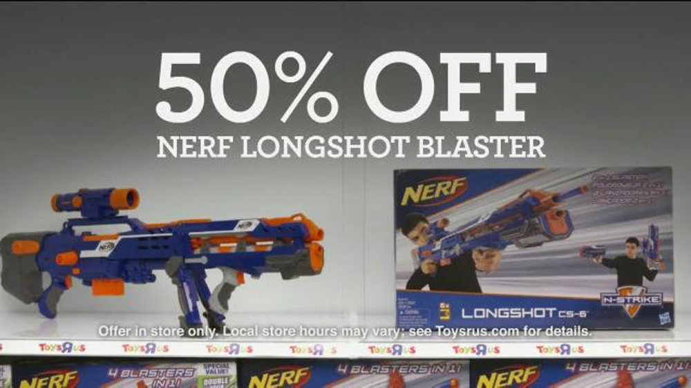 Toys R Us Black Friday Tv Commercial Pink Friday Nerf Ispot Tv