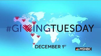 Giving Tuesday TV Spot, 'MSNBC: The Best Gift is Your Time' - 33 commercial airings