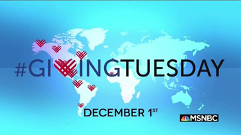 Giving Tuesday TV Spot, 'MSNBC: The Best Gift is Your Time'