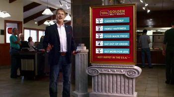 Golden Corral TV Spot, 'Yeast Rolls' - 1359 commercial airings