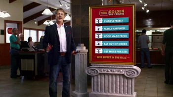 Golden Corral TV Spot, 'Yeast Rolls' - 1359 commercial airings