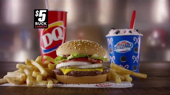Dairy Queen $5 Buck Lunch TV Spot, 'Christmas Tree' - Thumbnail 6