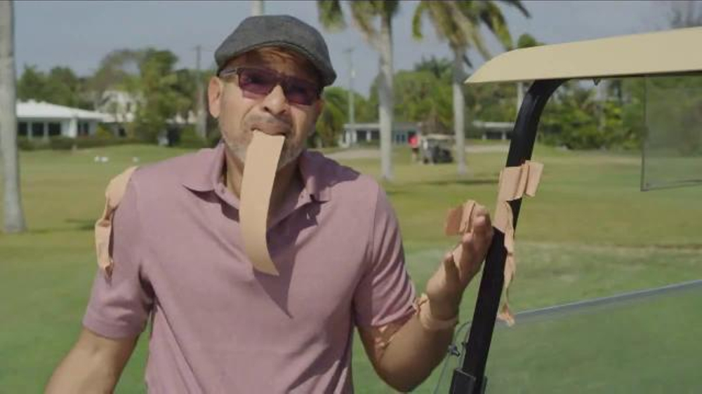 Blue-Emu TV Commercial, 'Golf Outing' Featuring Johnny Bench